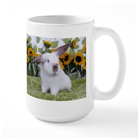 Presto with Sunflowers 2-Large Mug