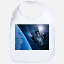 Hubble Space Telescope in orbit, artwork - Bib
