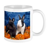 Tiny Tim and Dixie in Pumpkin Patch Mug