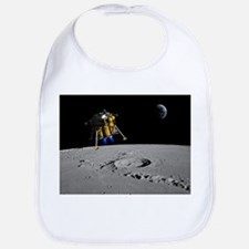Moon lander, artwork - Bib