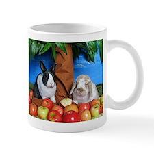 Dinah and Macintosh Picking Apples Mug