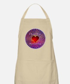 I Love You More Each Day Apron