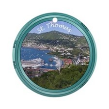 St Thomas Porthole Ornament (Round)