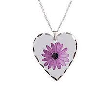 Purple Daisy Necklace
