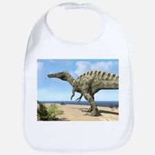Suchomimus dinosaur, artwork - Bib
