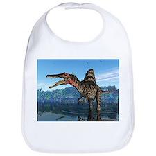 Spinosaurus dinosaur, artwork - Bib