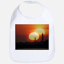 Spring equinox sunset, composite image - Bib