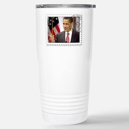 Obama Inauguration 2013 Stainless Steel Travel Mug