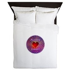 Awesome Lover Queen Duvet