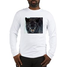 scary wolf Long Sleeve T-Shirt