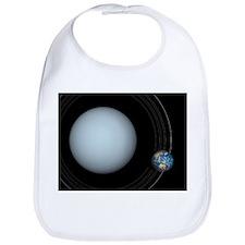 Uranus and Earth, artwork - Bib