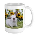 Presto with Sunflowers-1 Large Mug