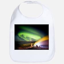 Aurora watching, time-exposure image - Bib