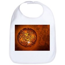 Aztec Sun Stone, artwork - Bib