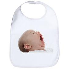 Baby yawning - Bib