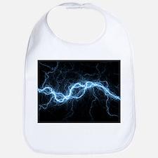 Bolt of lightning, computer artwork - Bib