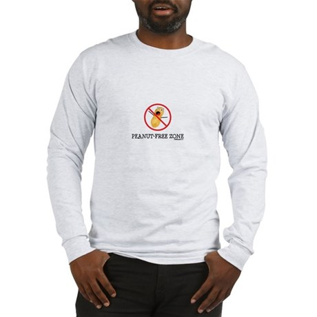 Peanut Free Zone Long Sleeve T-Shirt
