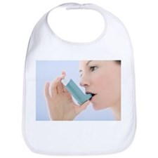 Asthma inhaler use - Bib