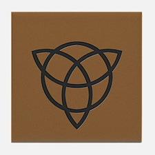 Reversed Triquetra Tile Coaster