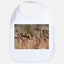 Cave painting: Kolo figures with head-dresses - Bi