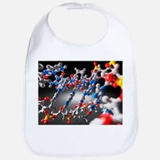 DNA molecule, artwork - Bib