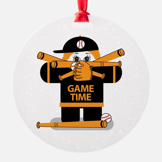 Game Time Ornament