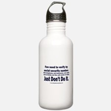 Just Don't Do It Water Bottle