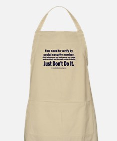 Just Don't Do It Apron