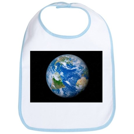 Earth from space, artwork - Bib