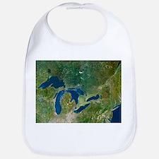 Great Lakes, satellite image - Bib