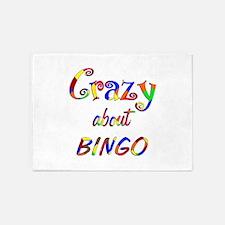Crazy About Bingo 5'x7'Area Rug
