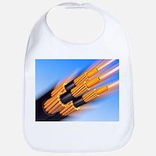 Optical fibre bundle for communications - Bib