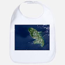 Martinique volcano, satellite image - Bib