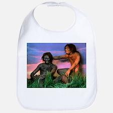 Models of Homo erectus men - Bib