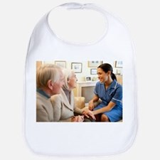 Nurse on a home visit - Bib