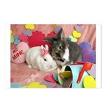 Olivia and Skyler, Valentine Bunnies Postcards (Pa