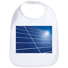 Solar panels in the sun - Bib