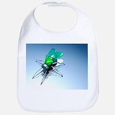 Robotic fly, artwork - Bib