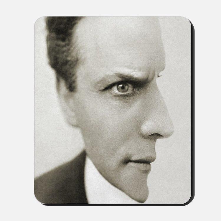 Houdini Optical Illusion Vertical Mousepad
