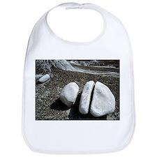 Weathered sandstone boulder - Bib