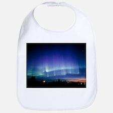View of a colourful aurora borealis display - Bib