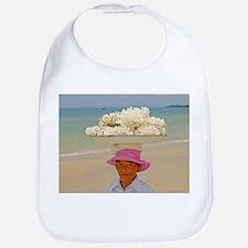 Woman selling coral - Bib