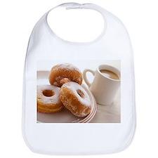 Coffee and doughnuts - Bib