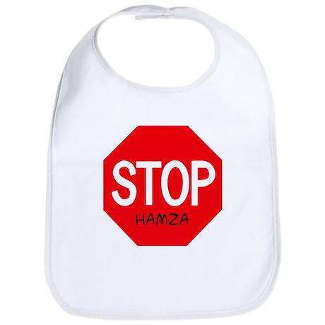 Stop Hamza Bib