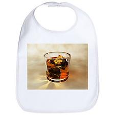 Glass of whiskey, computer artwork - Bib