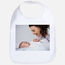 Mother and baby girl - Bib