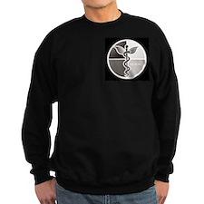 SCNM Medicine Wheel BW Logo Sweatshirt