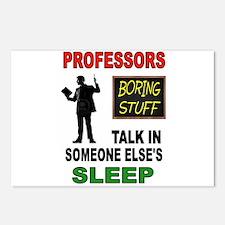 PROFESSOR Postcards (Package of 8)