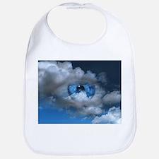 Eye and clouds - Bib