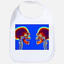 Human skulls - Bib